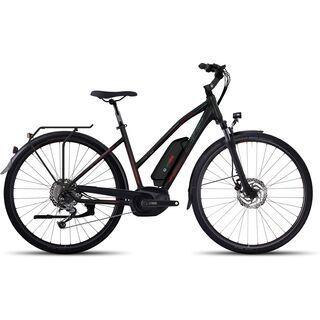 Ghost Hybride Andasol Trekking 5 W 400 2017, black/red - E-Bike