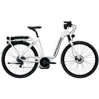 Cannondale E-Series 1 Headshok Step Trough Alfine 300Wh. New HMI 2013, magnesium white gloss - E-Bike