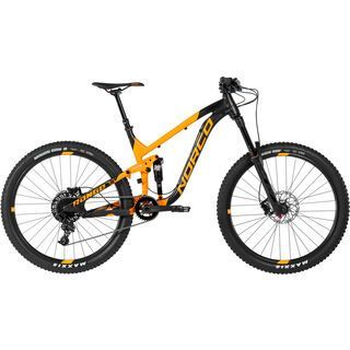 Norco Range A 7.3 2017, black/orange - Mountainbike