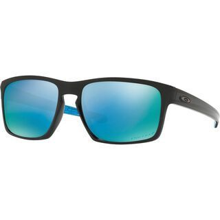 Oakley Sliver Prizm Deep Water Polarized, polished black - Sonnenbrille