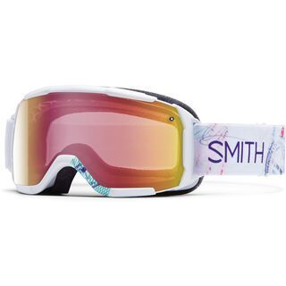 Smith Showcase OTG, white wanderlust/red sonsor mirror - Skibrille