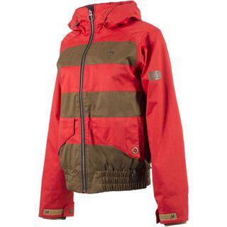 Nitro Personality Chrisis Jacket, red/brown - Snowboardjacke