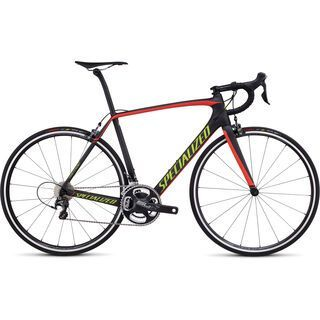 Specialized Tarmac Expert 2016, carbon/red/hyper - Rennrad