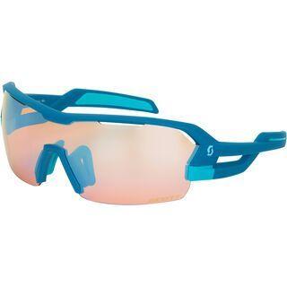 Scott Spur Sunglasses + Wechselscheibe, blue matt/Lens: blue chrome amplifier - Sportbrille