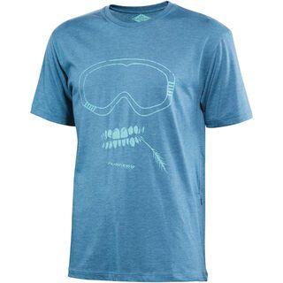 Platzangst Grin Function T-Shirt, blue - Radtrikot