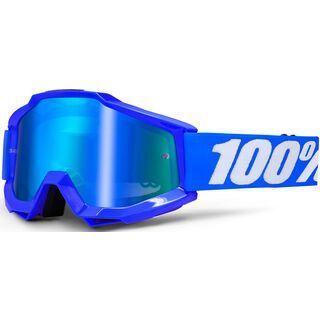 100% Accuri inkl. Wechselscheibe, reflax blue/Lens: mirror blue - MX Brille