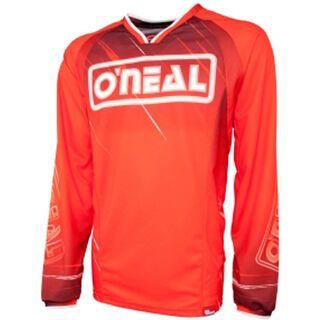 ONeal Element FR Long Sleeve Jersey Greg Minnar, red - Radtrikot