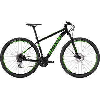 Ghost Kato 2.9 AL 2019, black/green - Mountainbike