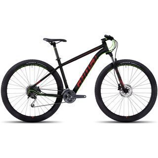 Ghost Kato 4 AL 29 2017, black/red/green - Mountainbike