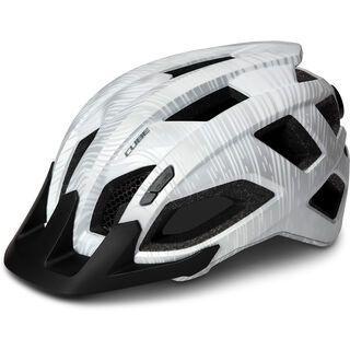 Cube Pathos, white - Fahrradhelm