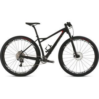 Specialized S-Works Fate Carbon 2015, Satin Carbon/Gloss Flo Red/Gloss Black - Mountainbike