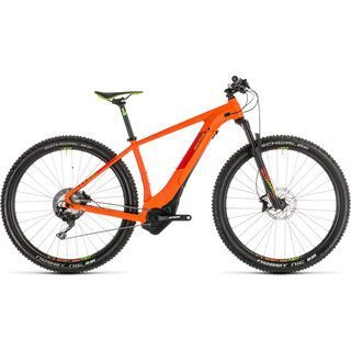 Cube Reaction Hybrid SL 500 Kiox 27.5 2019, orange´n´green - E-Bike