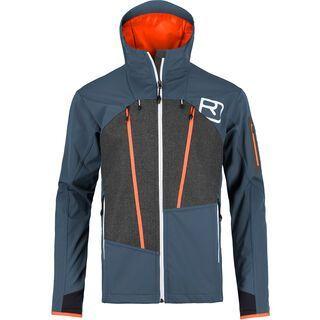 Ortovox Merino Naturtec Plus Pordoi Jacket M, night blue - Softshelljacke