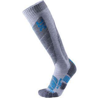 UYN All Mountain Ski Socks light grey melange/azure