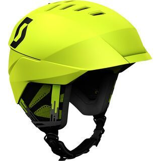 Scott Coulter, chartreuse yellow - Skihelm