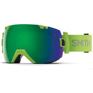 Smith I/OX inkl. WS, flash/Lens: cp sun green mir - Skibrille
