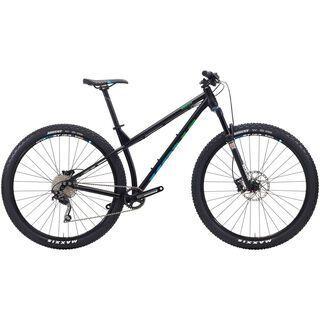 Kona Honzo 2015, matt black/blue - Mountainbike