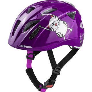 Alpina Ximo Flash, purple cat - Fahrradhelm