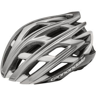 Cannondale Cypher, gloss black/silver - Fahrradhelm