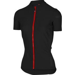 Castelli Promessa 2 Jersey FZ, black/red - Radtrikot