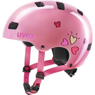 uvex kid 3 pink heart