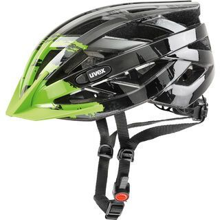 uvex i-vo c, dark silver-green - Fahrradhelm