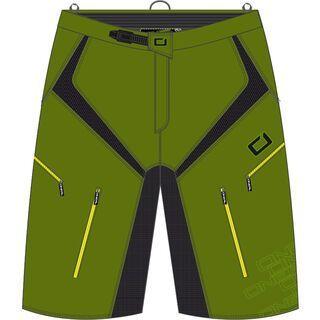 ONeal Pin It II Shorts, green - Radhose