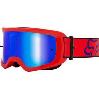 Fox Main Oktiv Goggle Spark, fluo red/Lens: spark mir lex - MX Brille