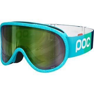POC Retina Julia Mancuso ed., julia blue/Lens: persimmon green mirror - Skibrille