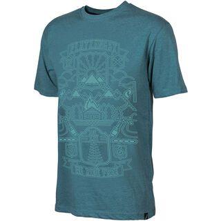 Platzangst Roof Shirt, new arctic - Radtrikot