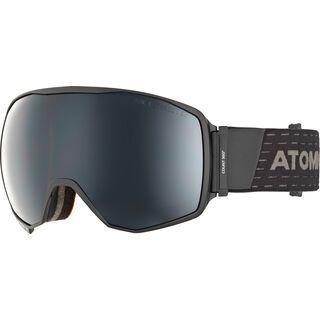 Atomic Count 360° Stereo, black/Lens: black stereo - Skibrille