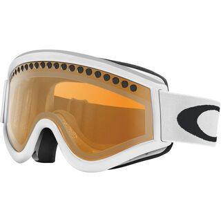 Oakley E-Frame, matte white/Lens: persimmon - Skibrille