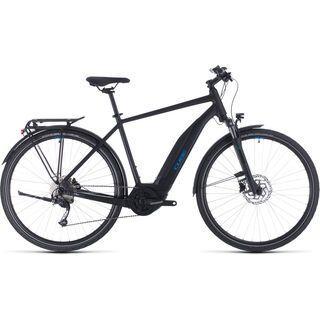 Cube Touring Hybrid ONE 400 2020, black´n´blue - E-Bike