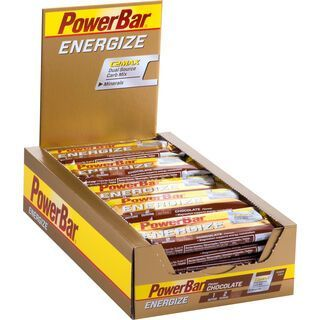 PowerBar Energize - Chocolate (Box) - Energieriegel