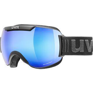 uvex downhill 2000 FM, black mat/Lens: mirror blue - Skibrille