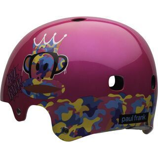 Bell Segment Jr. Paul Frank Urban, pink - Fahrradhelm