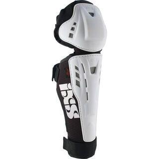IXS Hammer-Series Knee Guard Kids, white - Knie/Schienbeinschützer
