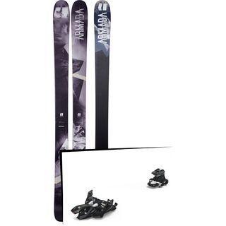 Set: Armada Invictus 108 Ti 2018 + Marker Alpinist 12 black/titanium