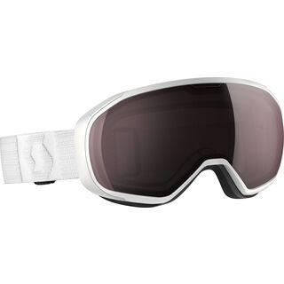 Scott Fix, white/Lens: ampli silver chr - Skibrille