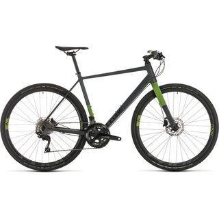 *** 2. Wahl *** Cube SL Road Race 2020, iridium´n´green - Fitnessbike | Größe 56 cm
