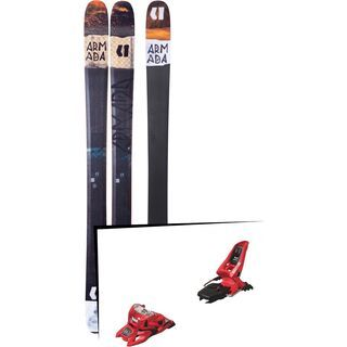 Set: Armada Tracer 108 2018 + Marker Squire 11 ID red