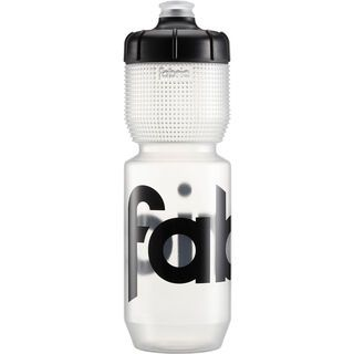 Fabric Gripper Bottle 750 ml, clear/black - Trinkflasche