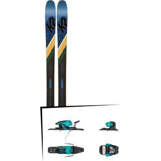 Set: K2 SKI Wayback 84 2019 + Salomon Warden 11 turquoise/black
