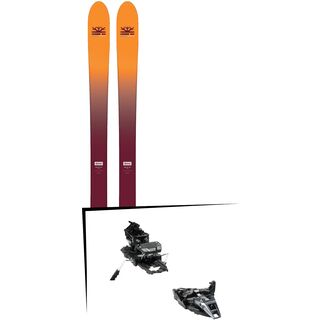 Set: DPS Skis Wailer F99 Foundation 2018 + Dynafit ST Rotation 10 black
