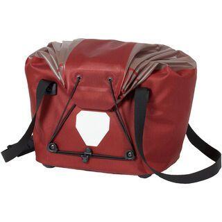 Ortlieb Fahrradkorb M, dark chili-grau - Gepäckträgertasche