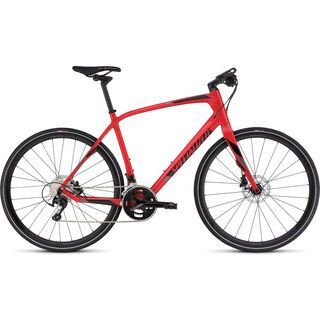 Specialized Sirrus Expert Carbon Disc 2017, red/black - Fitnessbike