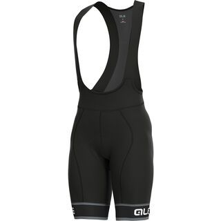 Ale Sella Bibshorts, black-white - Radhose
