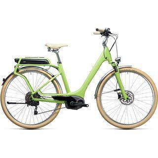 Cube Elly Ride Hybrid 400 2017, green´n´white - E-Bike