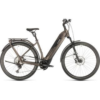 Cube Kathmandu Hybrid SLT Easy Entry 2020, teak´n´silver - E-Bike