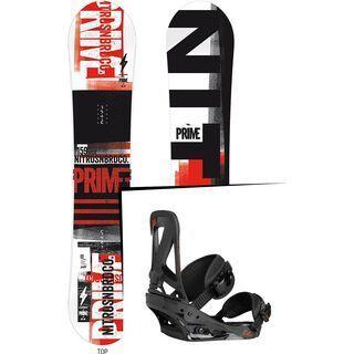 Set: Nitro Prime Gig Wide  + Burton Custom (1191305S)